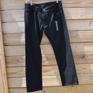 Jordan Craig Black Jeans Slim Fit Classic 5 Pocket
